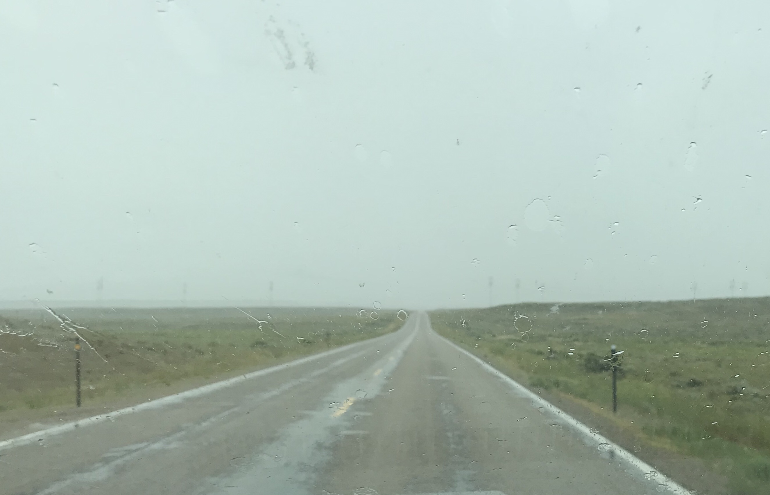 My drive from Jackson to Salt Lake City looked like this ALOT